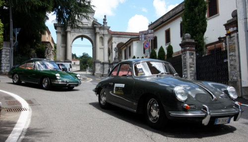 Driving Art: Porsche GT gathering at Sacro Monte